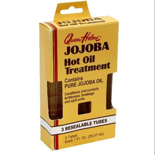 QUEEN HELENE Jojoba Hot Oil Treatment, 3 tubes (Pack of 3)