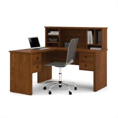 Somerville L-Shaped desk with hutch BER4585063
