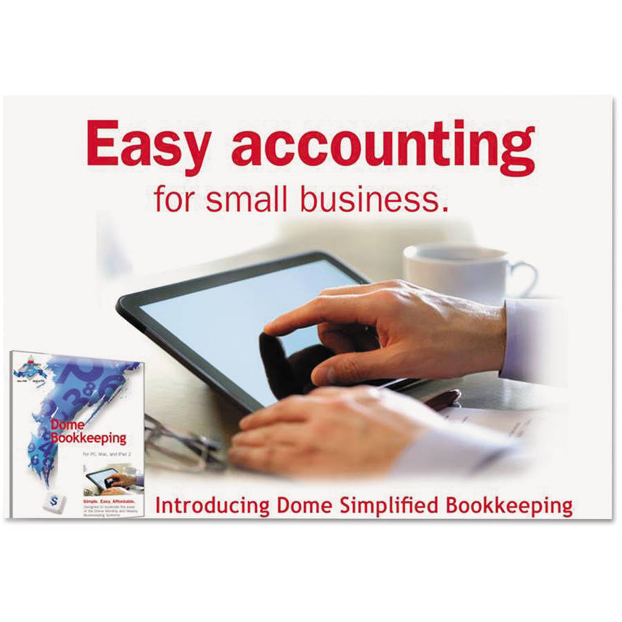 Dome Simplified Bookkeeping Software, Mac OS X and Later, Windows 7, 8