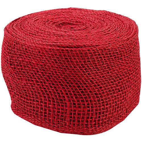"Kel-Toy Jute Ribbon, 4"" x  10 Yards"