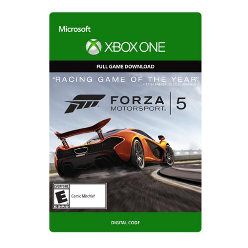 Forza Motorsport 5 - Microsoft Xbox One Video Game Download Card