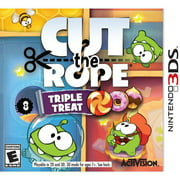 Cut the Rope: Triple Threat (Nintendo 3DS)