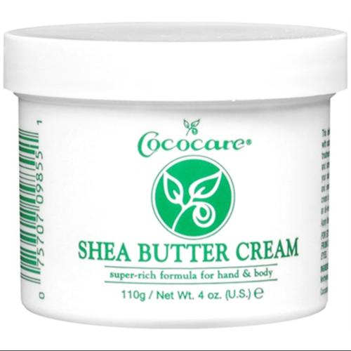 Cococare Shea Butter Cream 4 oz (Pack of 3)