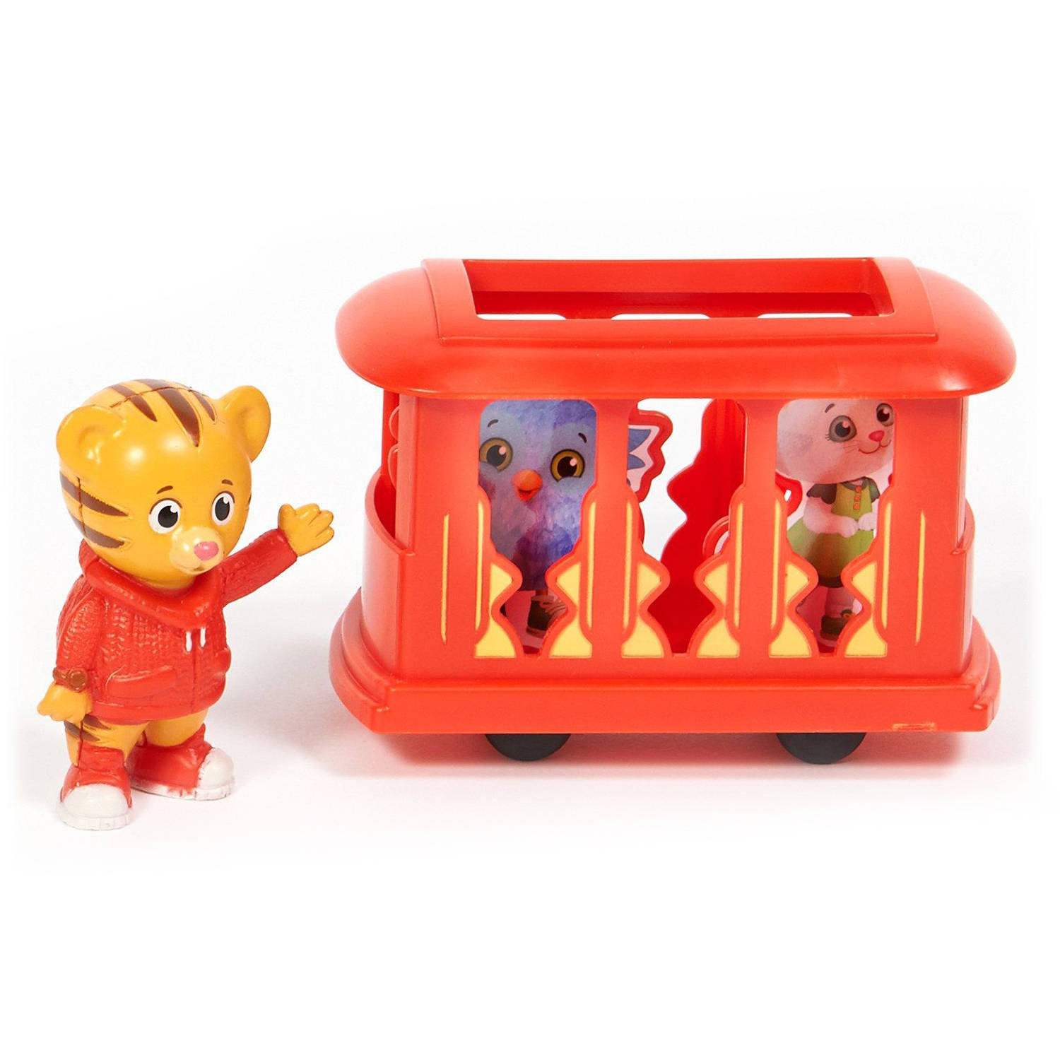 Daniel Tiger's Neighborhood Cake Topper, 4 Pieces