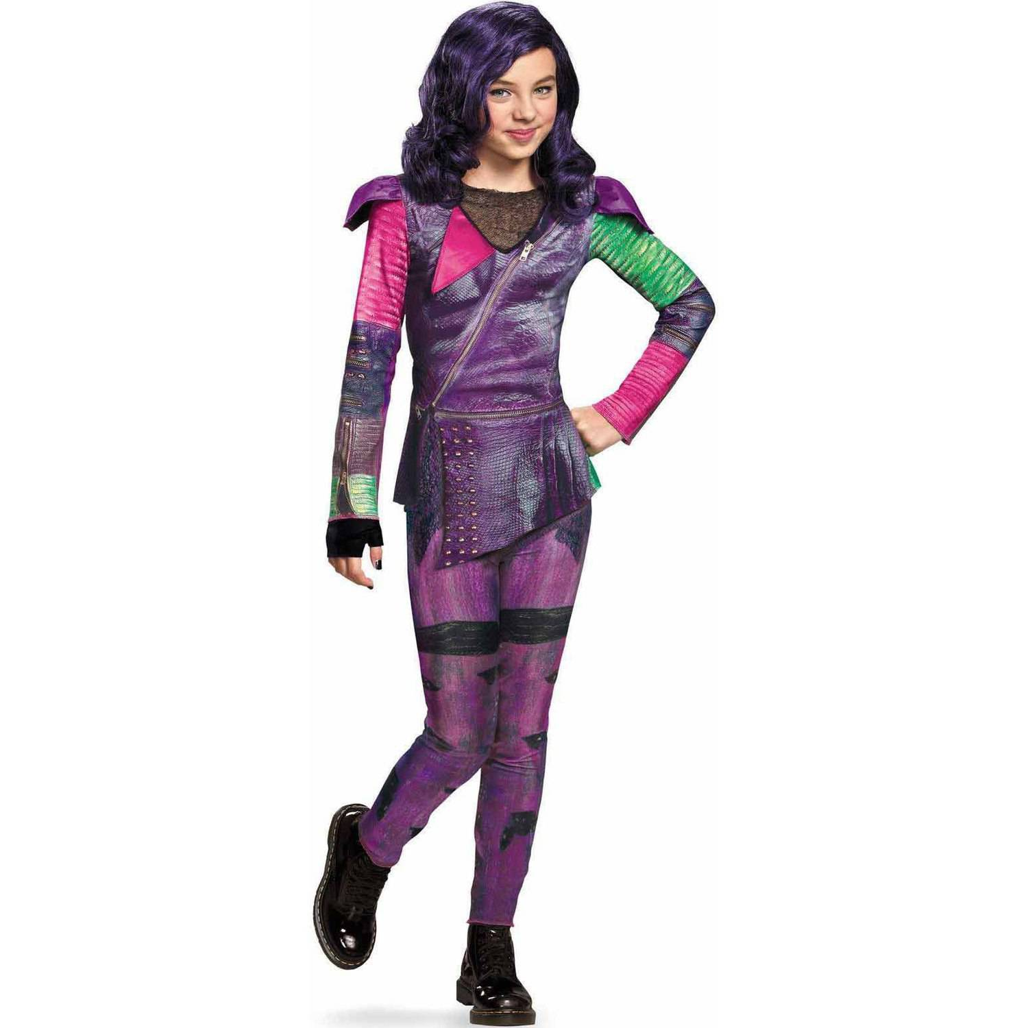 Disney The Descendants Mal Isle of the Lost Classic Child Halloween Costume