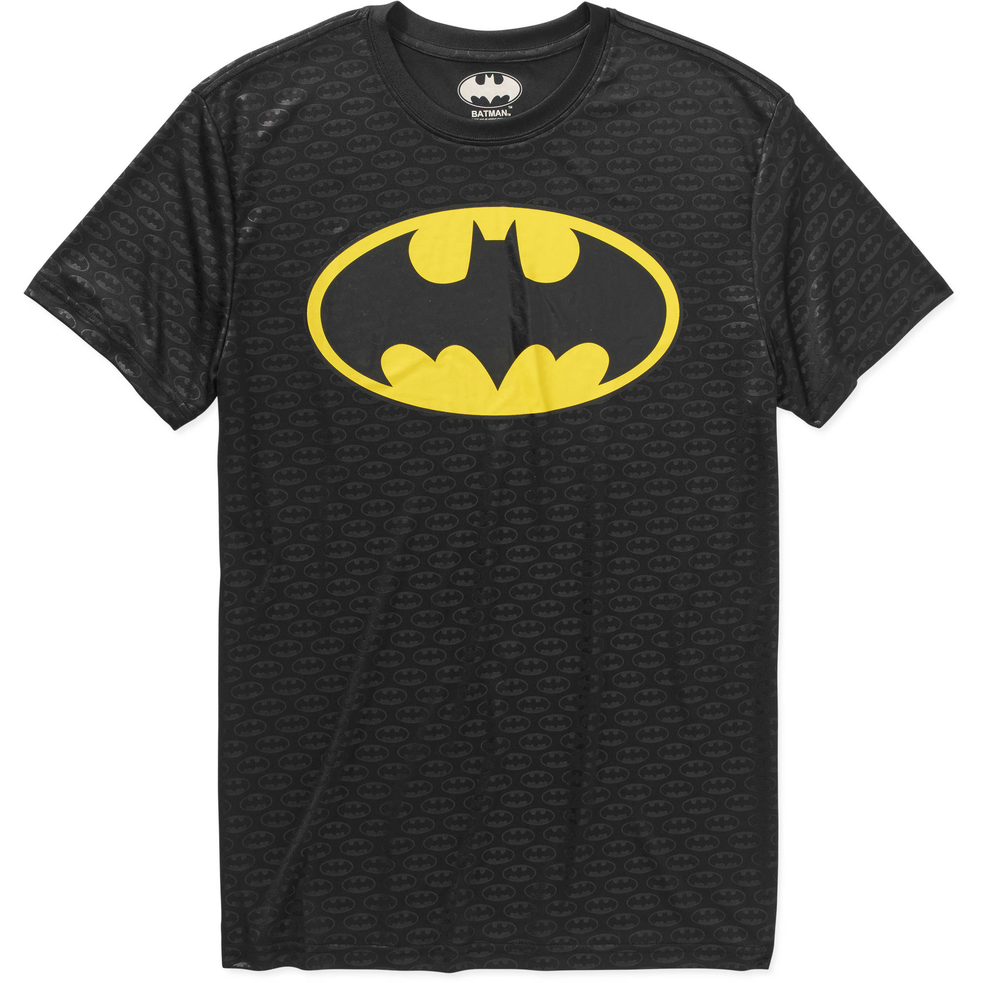 Batman Logo Men's Performace Graphic Tee