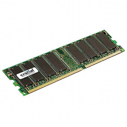Crucial 512MB 184-pin DDR PC3200 DIMM