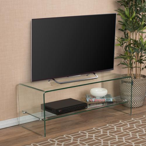 Bruno Tempered Glass TV Stand