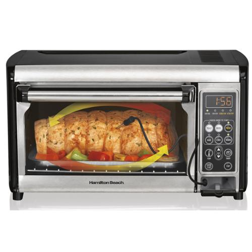 Hamilton Beach 31230 Set & Forget Digital Temperature Convection Oven Countertop