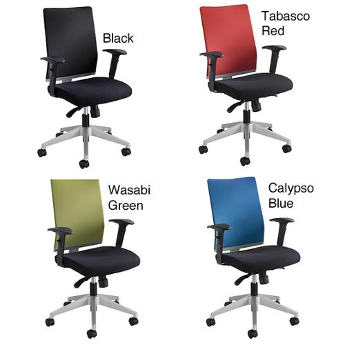 Safco Tez Manager Chair Black