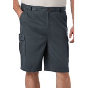 "Boulder Creek Men's Big & Tall 9"" Renegade Cargo Shorts With Full Elastic Waist"