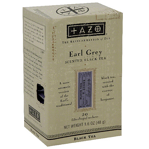 Tazo  Earl Grey Tea, 20ct (Pack of 6)