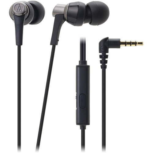 Audio-Technica SonicPro In-Ear Headphones with In-Line Microphone and Control