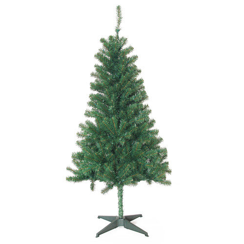 Jeco Inc. 5' Green Pine Artificial Christmas Tree with 200 Clear Lights with Stand