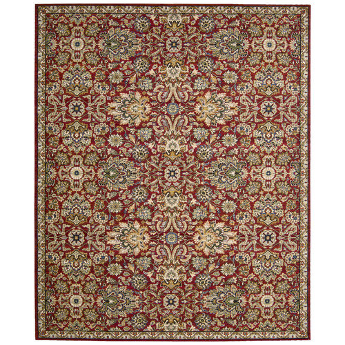 Nourison Timeless Red Area Rug
