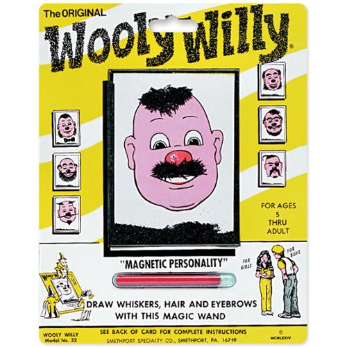Magnetic Personalities -Original Wooly Willy