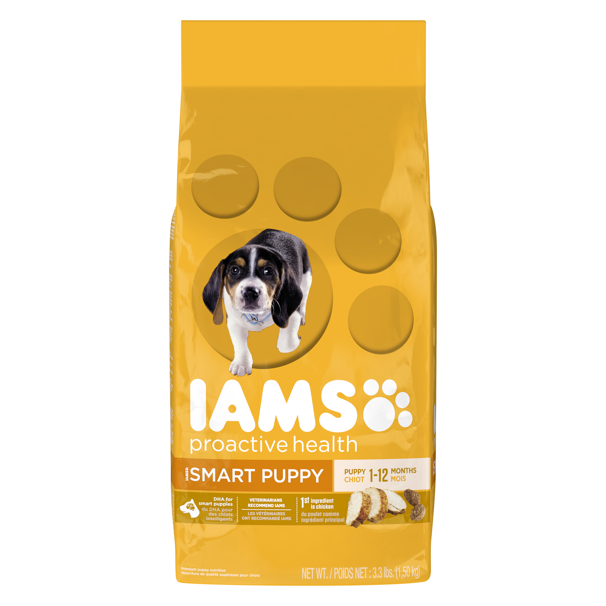 IAMS PROACTIVE HEALTH Smart Puppy Dry Puppy Food 3.3 Pounds