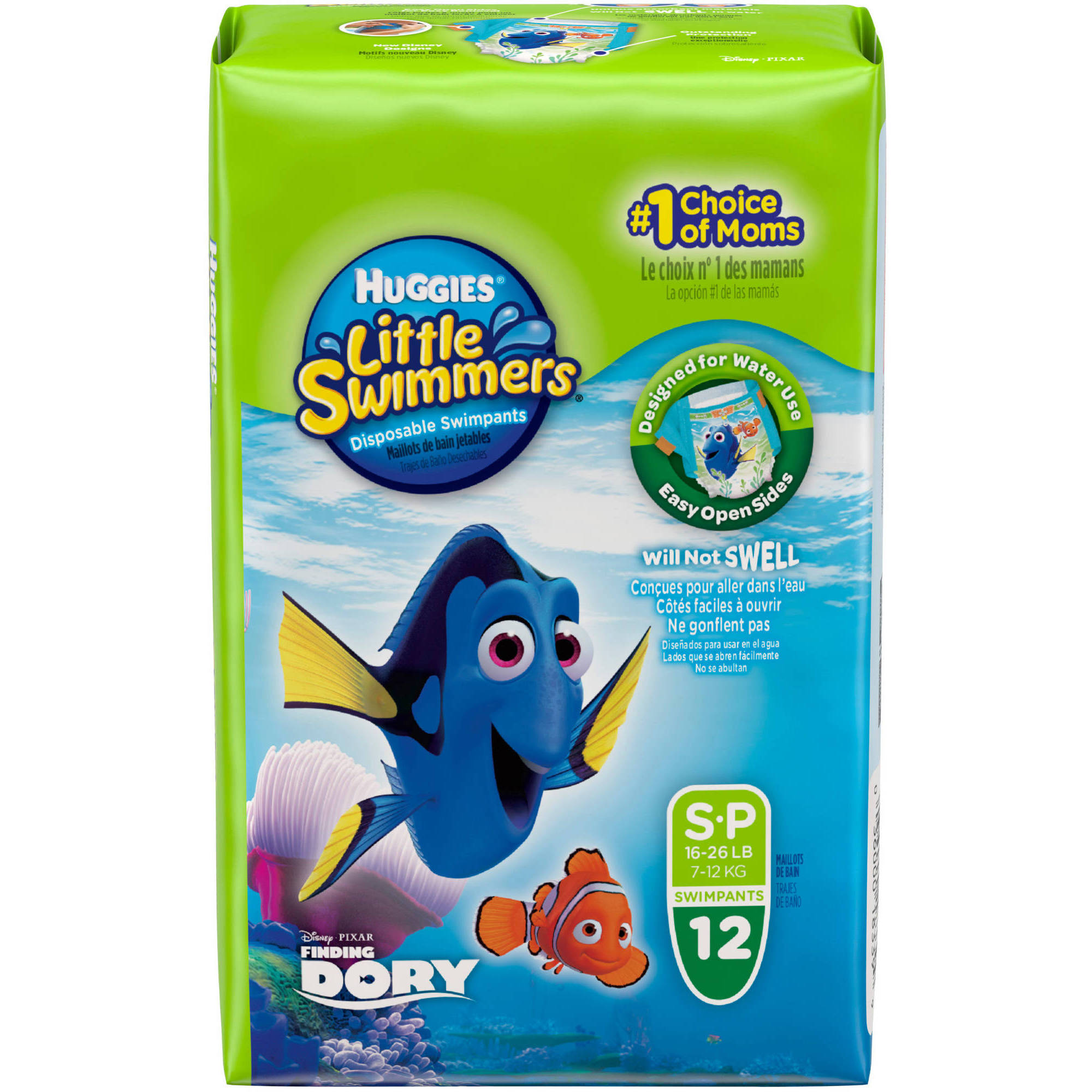 HUGGIES Little Swimmers Disposable Diaper Swimpants, (Choose Your Size)