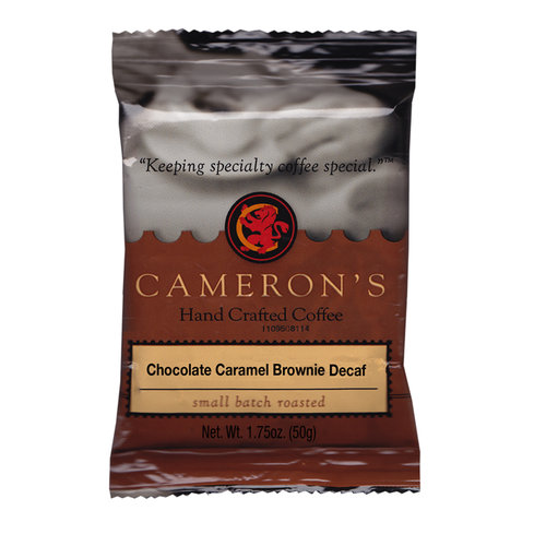 Cameron?s Decaf Chocolate Caramel Brownie Ground Coffee, 1.75 oz