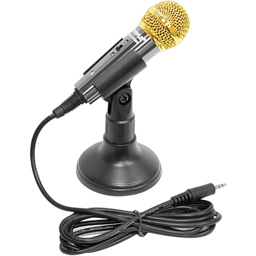 Pyle PMIKC20BK Vocal Condenser Microphone, Black