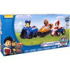 Nickelodeon Paw Patrol - Rescue Racers 3pk Vehicle Set Chase, Zuma, Ryder