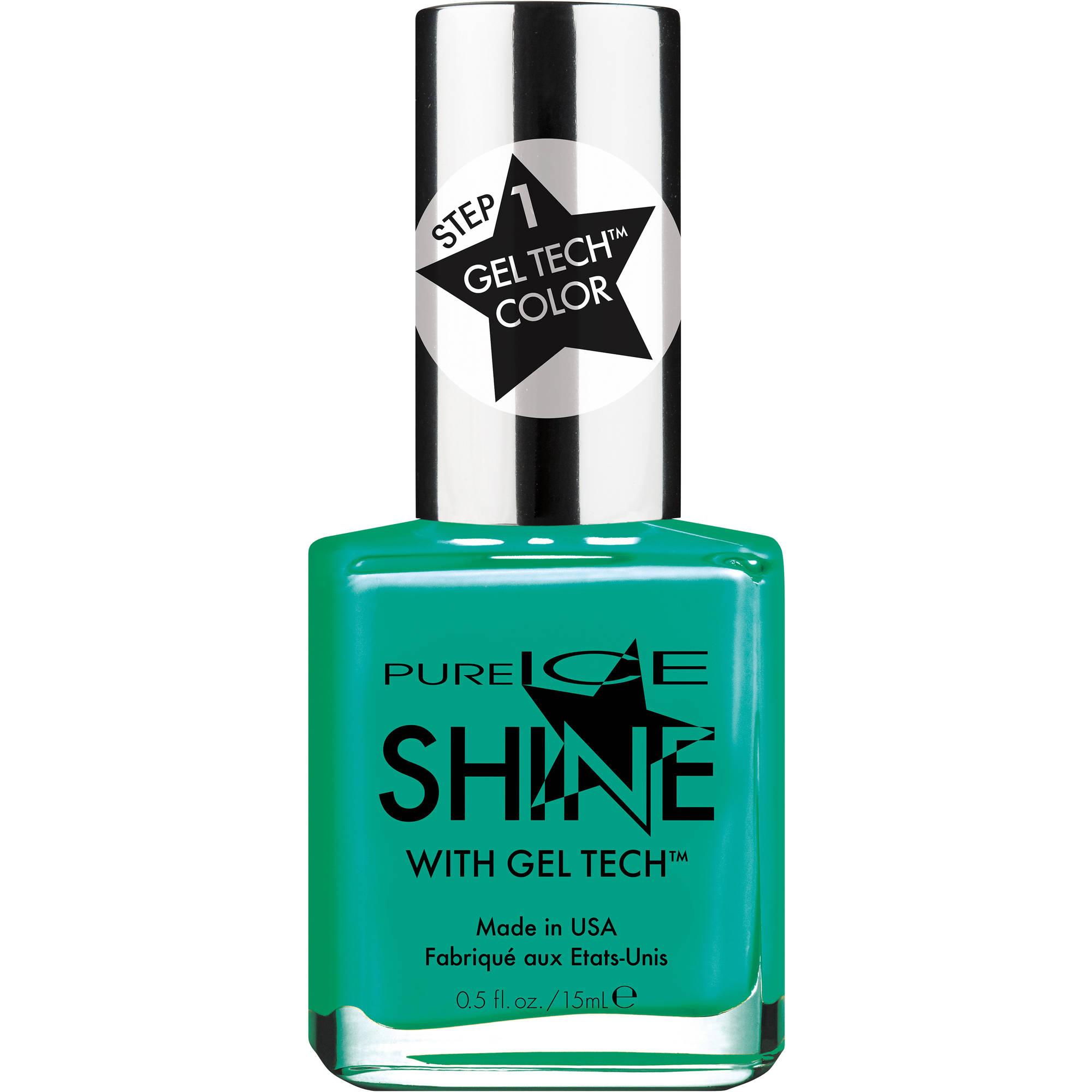 Pure Ice Shine with Gel Tech Nail Polish, More Bang for My Buck, 0.5 fl oz