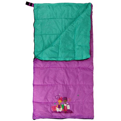 GigaTent Cozy Cuddler Kids' Sleeping Bag, Slumber Girl