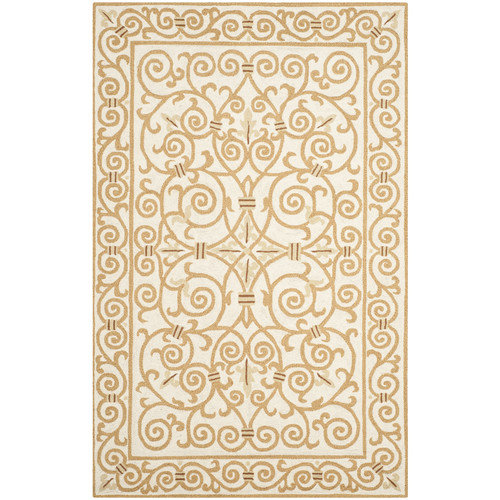 Safavieh Chelsea Ivory & Gold Area Rug