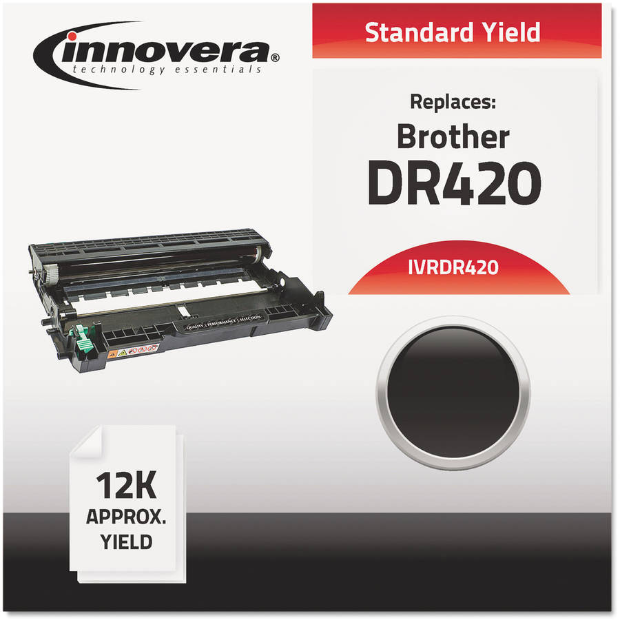 Innovera Remanufactured DR420 Black Drum Unit