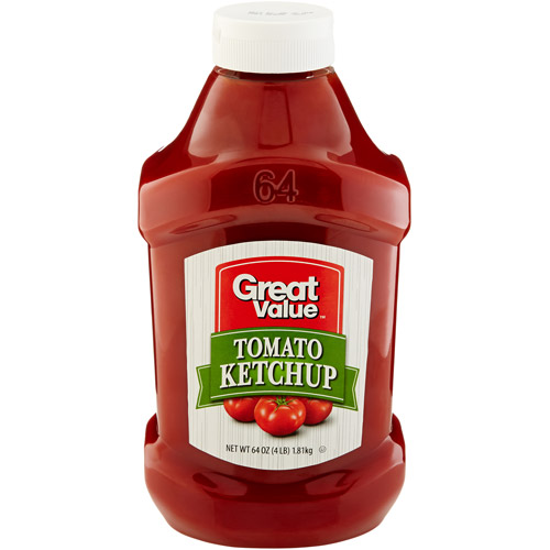 Great Value: Tomato Ketchup, 64 oz