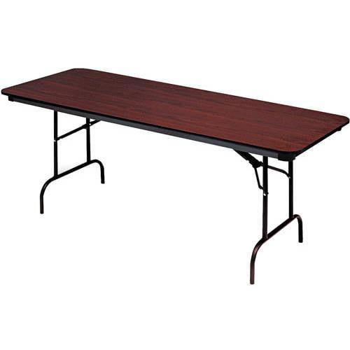 Iceberg Premium Wood Laminate Folding Table Rectangular