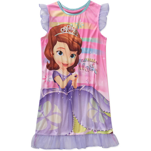 Disney Sofia the First Amulet Magic Girls' Sleep Gown