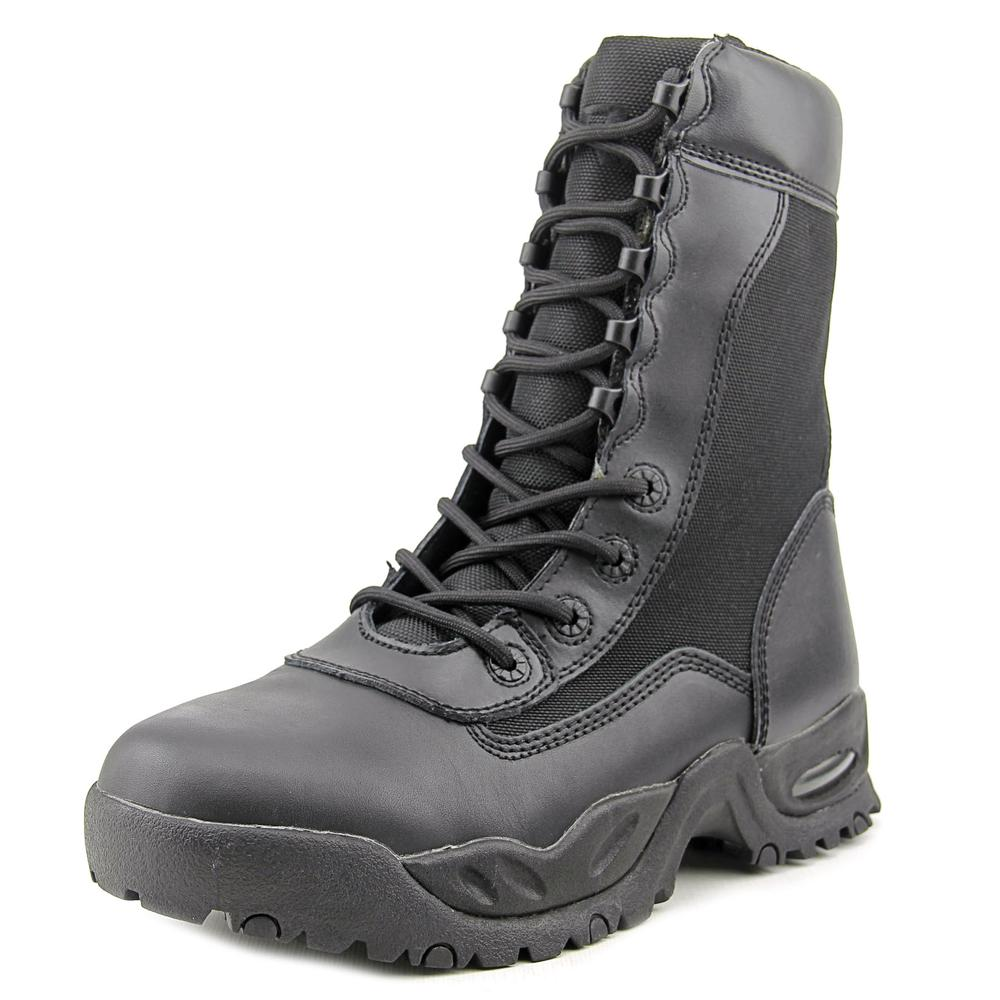 Ridge Air Tac Zipper Men US 9.5 Black Steel Toe Work Boot UK 8.5 EU 42