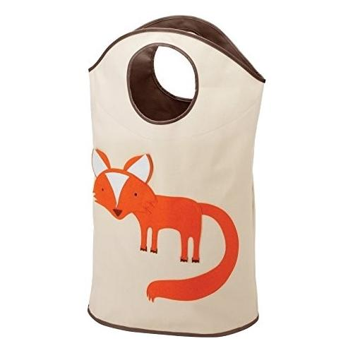 Whitmor Kid's Canvas Laundry Hamper Tote - Fox