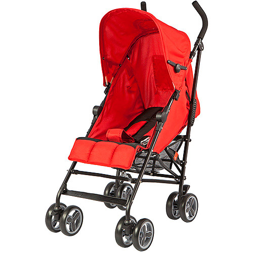 Dream On Me Cloud Lightweight Stroller, Red