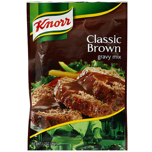 Knorr Classic Brown Gravy Mix, 1.2 oz (Pack of 12)