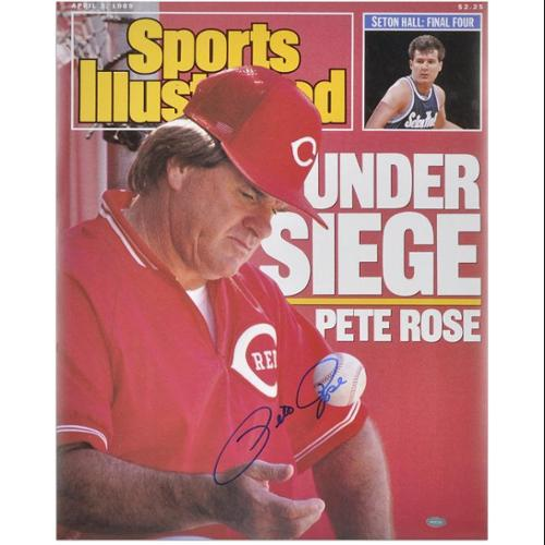"Pete Rose Cincinnati Reds Sports Illustrated Cover Autographed 16"" x 20"" Photograph - Fanatics Authentic Certified"