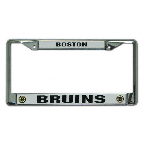 NHL - Boston Bruins Chrome License Plate Frame