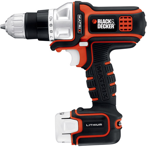 Black & Decker 12-Volt Matrix Drill, BDCDMT112