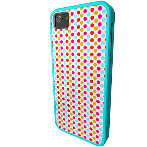 iFrogz Mix Cover for iPhone 5/5s, Polka Dots