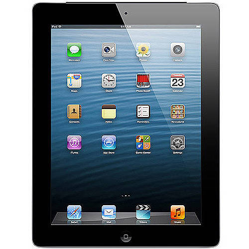 Apple iPad with Retina display 16GB Wi-Fi + AT Refurbished, (Black or White)