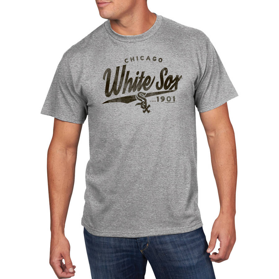 MLB - Big Mens Chicago White Sox Short Sleeve Team Tee