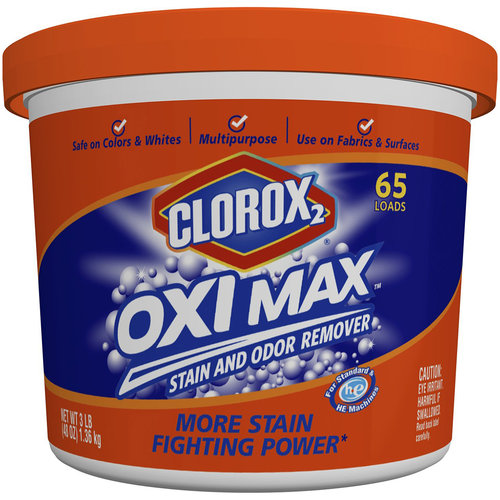 Clorox 2 Oxi Max Stain and Odor Remover, 48 oz