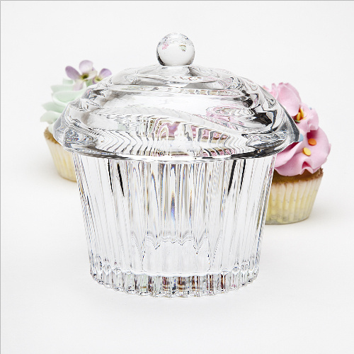 Cupcake Covered Box - Crystal