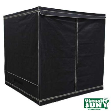 Virtual Sun Reflective Mylar Hydroponic Plant 76x76x76 Grow Tent Box - VS7600-76