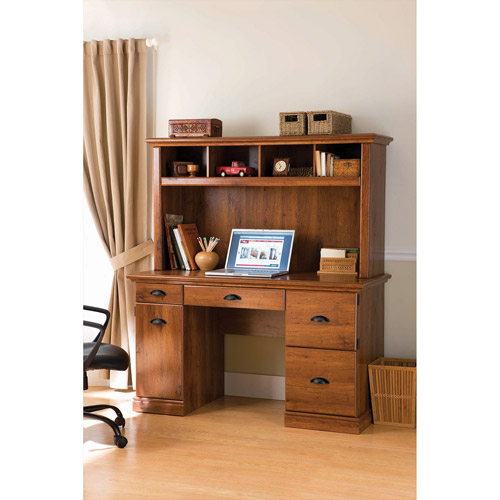 Better Homes and Gardens Computer Workstation Desk and Hutch, Multiple Colors