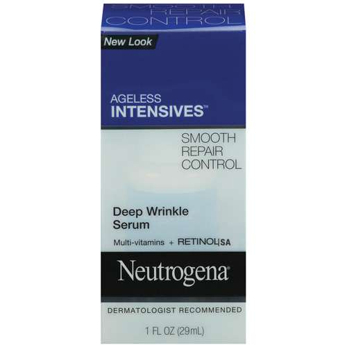 Neutrogena Ageless Intensives, Deep Wrinkle Serum, 1.0 fl oz