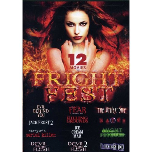 Fright Fest-12 Horror Movie Collection [DVD]