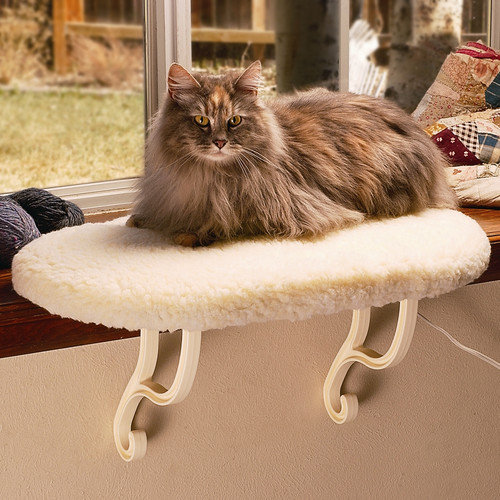 K&H Manufacturing 9'' Kitty Sill Cat Perch