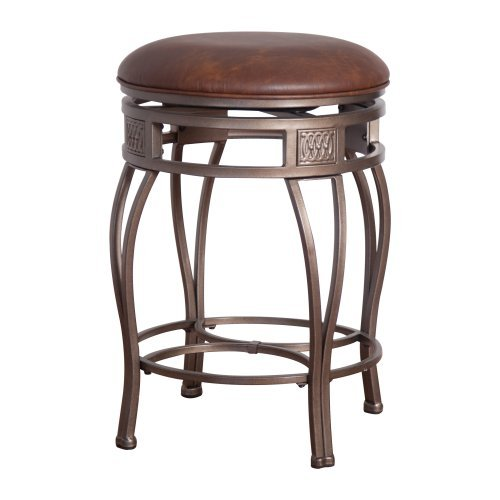 Hillsdale Montello 30 In Backless Swivel Bar Stool Old